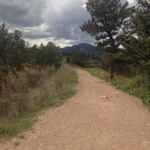 Long run Sunday again trying to beat the rain. Thanks for the views Boulder #IMTraining #FurtherFasterForever #teamsoas2015