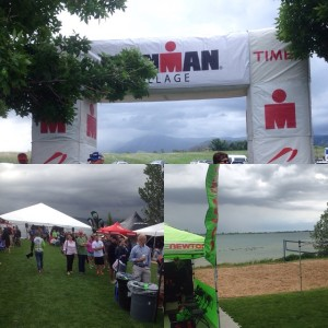 These pics do not do the weather justice. Hoping for a better day on Saturday #ironmanboulder70point3
