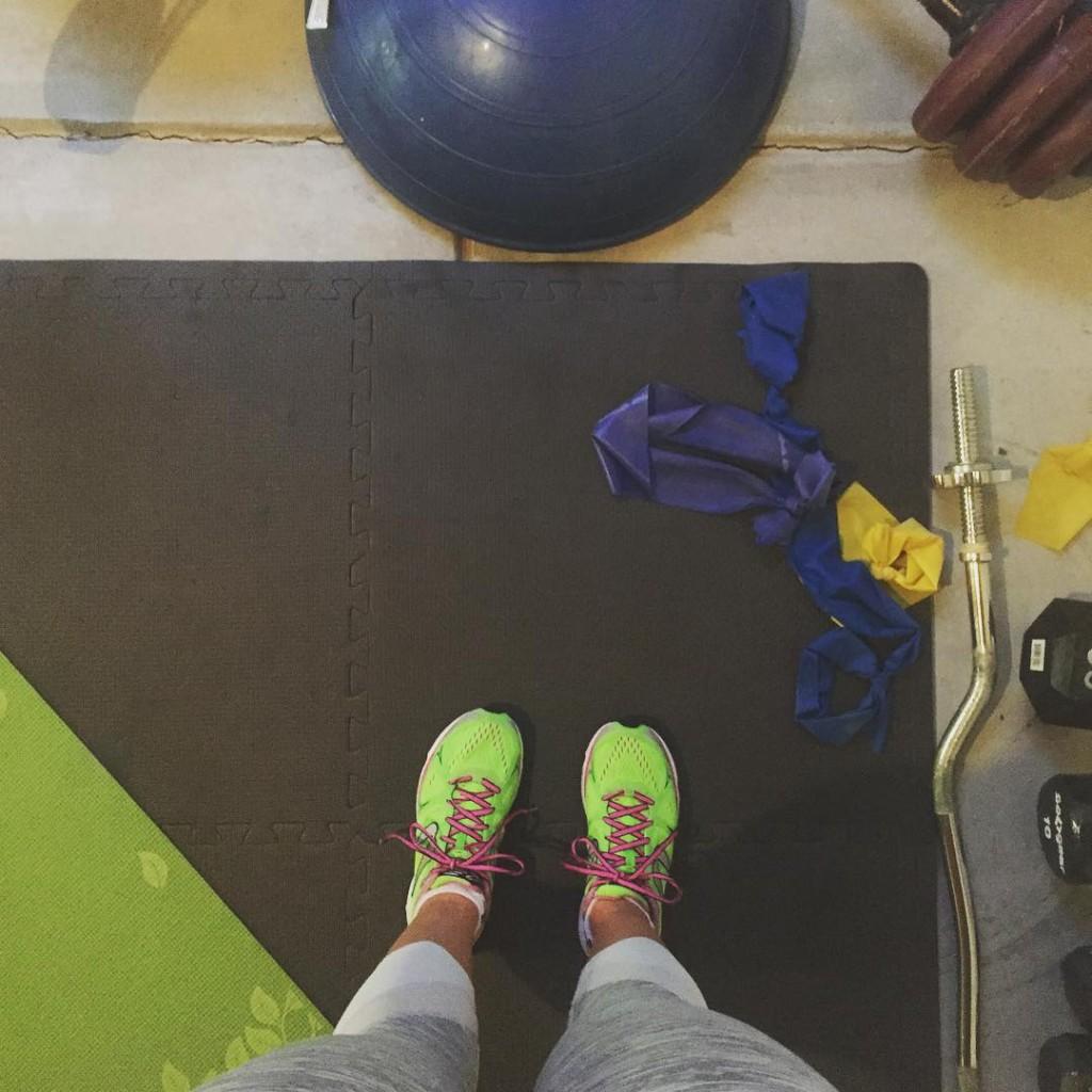 A little Sunday night strength training #IMLakeTahoe #IMLT #triathlon #teamsoas