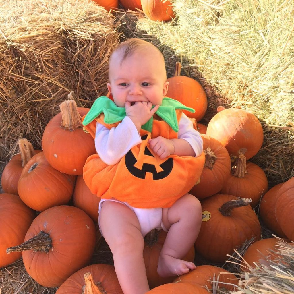 Baby Boy, Fall, Pumpkins