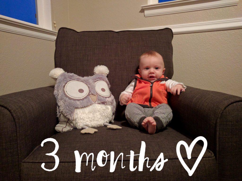 Baby Boy, 3 Months