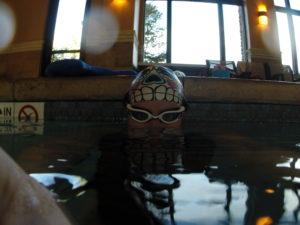 Pool, Swim, Triathlete, GoPro