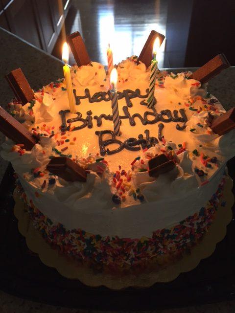 Birthday Cake, Cold Stone Creamery