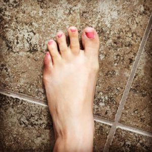 Andit ends with a broken toe I am supposed tohellip
