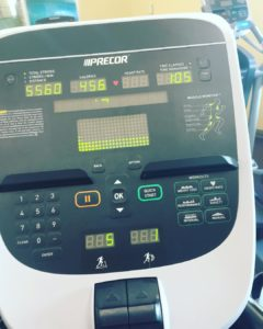 Claiming my title as elliptical queen an hour of hillshellip