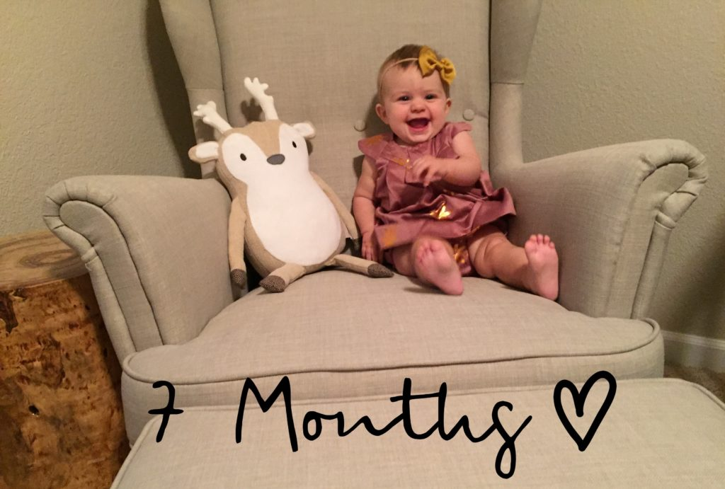 Baby Girl, 7 Months